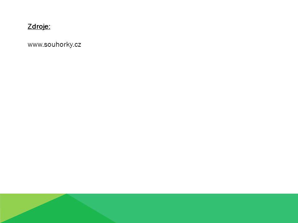 Zdroje: www.souhorky.cz