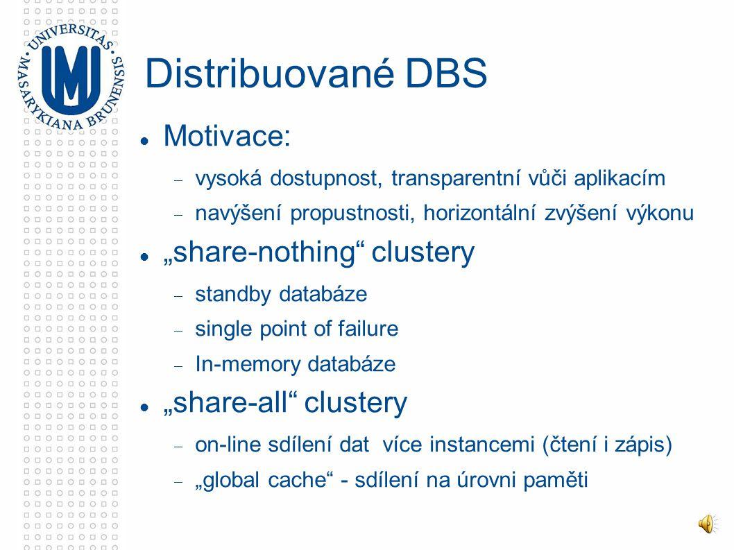 Velké databáze High Performance Databases Miroslav Křipač Vývojový tým IS MU Služby počítačových sítí, 13.