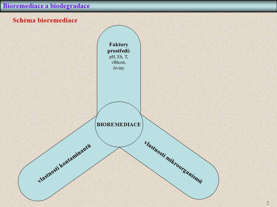 3 Bioremediace a biodegradace