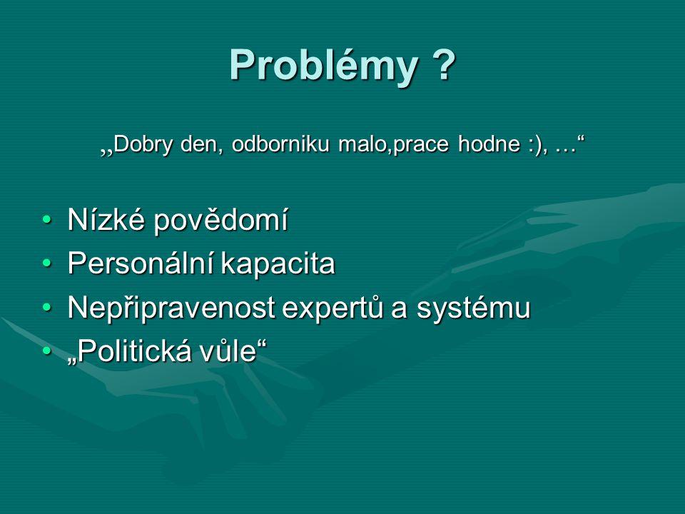 Problémy .