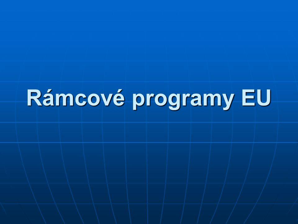 Rámcové programy EU
