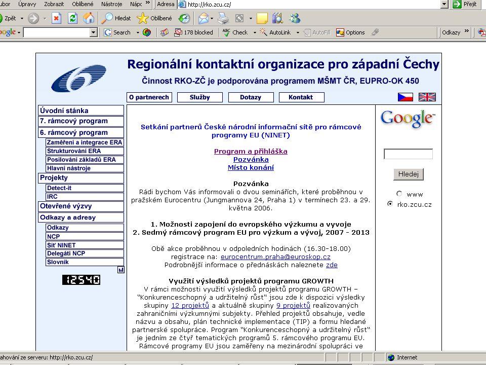 ZČU, 20.6.2006, Jiří Vacek AKADEMIK 06 - Informační zdroje 53