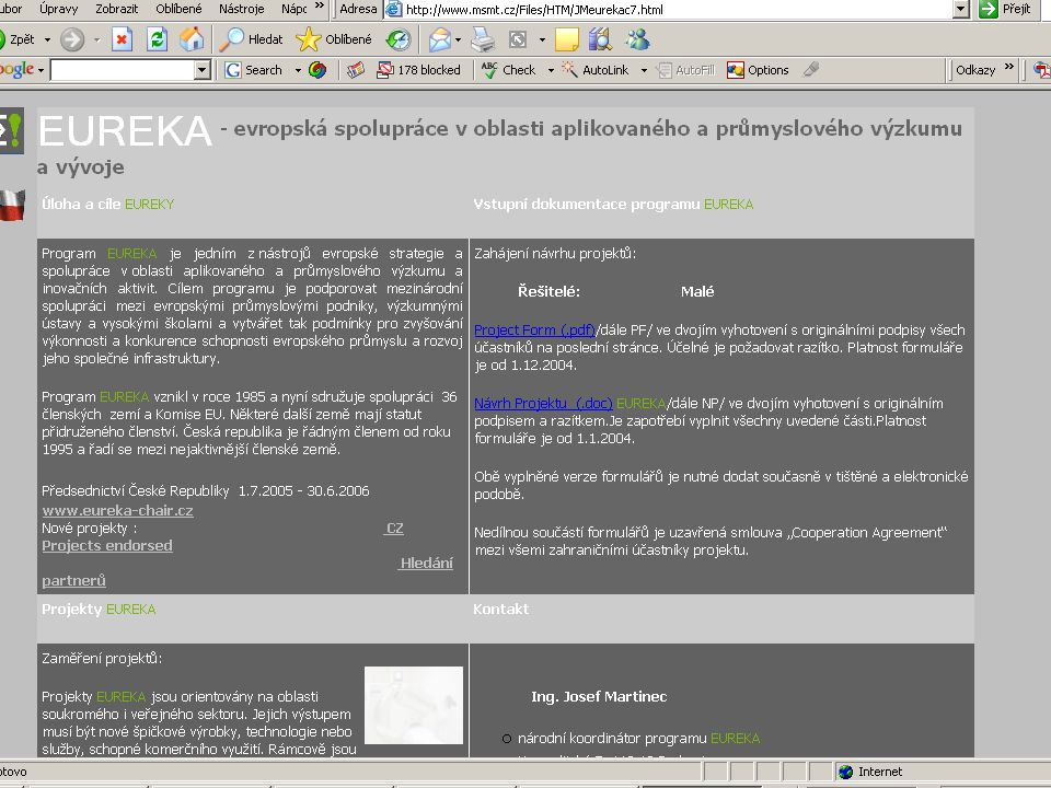 ZČU, 20.6.2006, Jiří Vacek AKADEMIK 06 - Informační zdroje 60