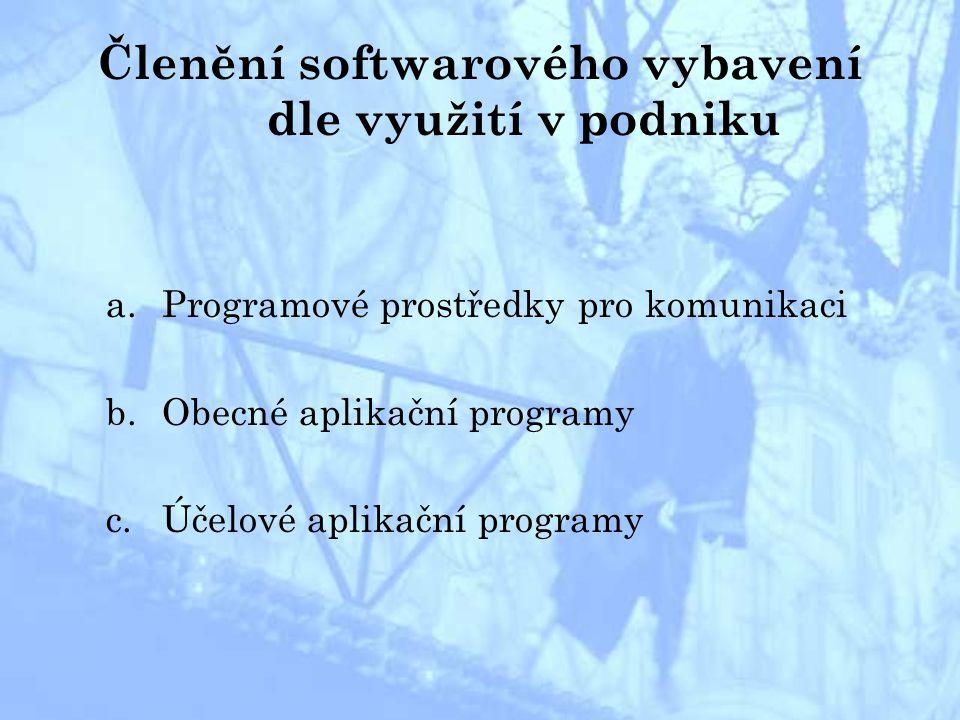 A.Programové prostředky pro komunikaci 1) INTERNET –historie: konec 60.