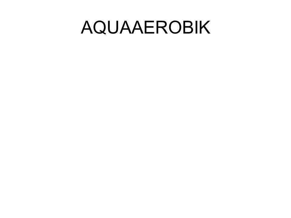 AQUAAEROBIK