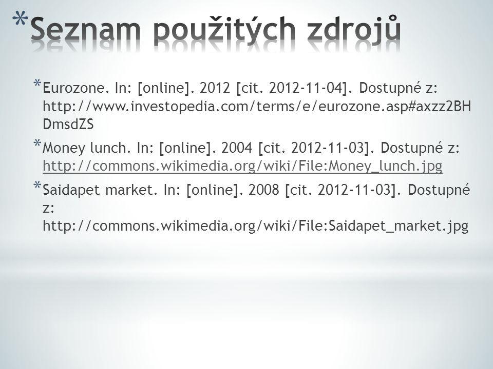 * Eurozone.In: [online]. 2012 [cit. 2012-11-04].