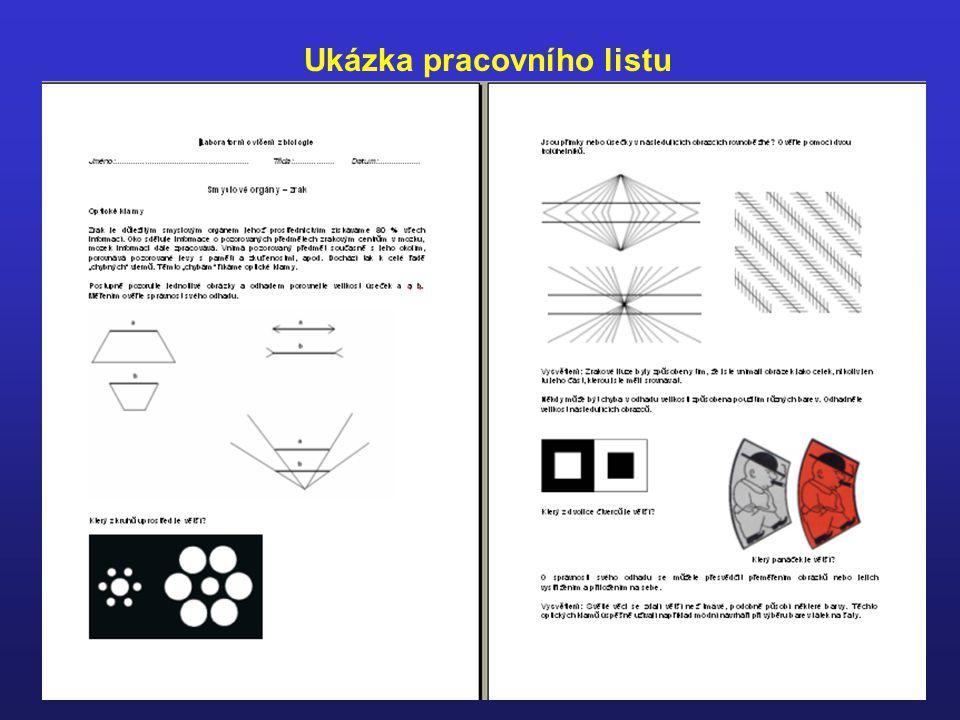 Ukázka učebního textu doplněného obrázky