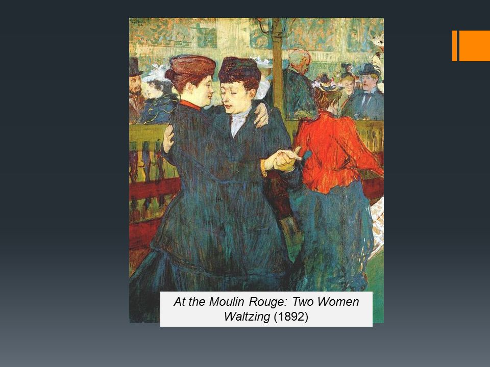 At the Moulin Rouge: Two Women Waltzing (1892)