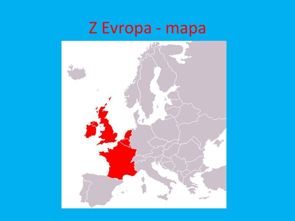 Otázky a úkoly : 1.Vypiš státy Západní Evropy a jejich hlavní města.