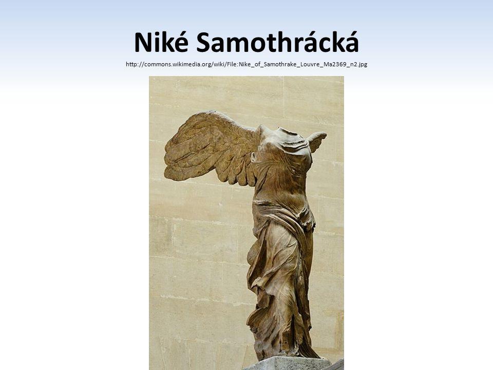 Niké Samothrácká http://commons.wikimedia.org/wiki/File:Nike_of_Samothrake_Louvre_Ma2369_n2.jpg