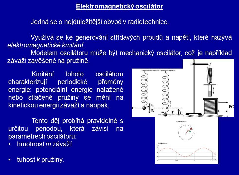 Jedná se o nejdůležitější obvod v radiotechnice. Využívá se ke generování střídavých proudů a napětí, které nazývá elektromagnetické kmitání. Modelem