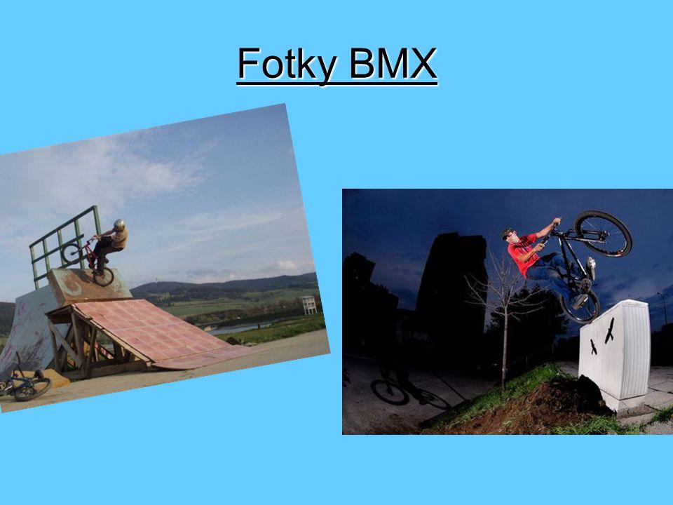 BMX kategorie Postupně se freestyle BMX začal rozvětvovat do dalších kategorií a tak dneska jsou po celémsvětě známy disciplíny streetstyle (jízda v parku), dirt jump (hliněné skoky), flatland (krasojízda nebo balet na kole) a vert (jízda v rampě).