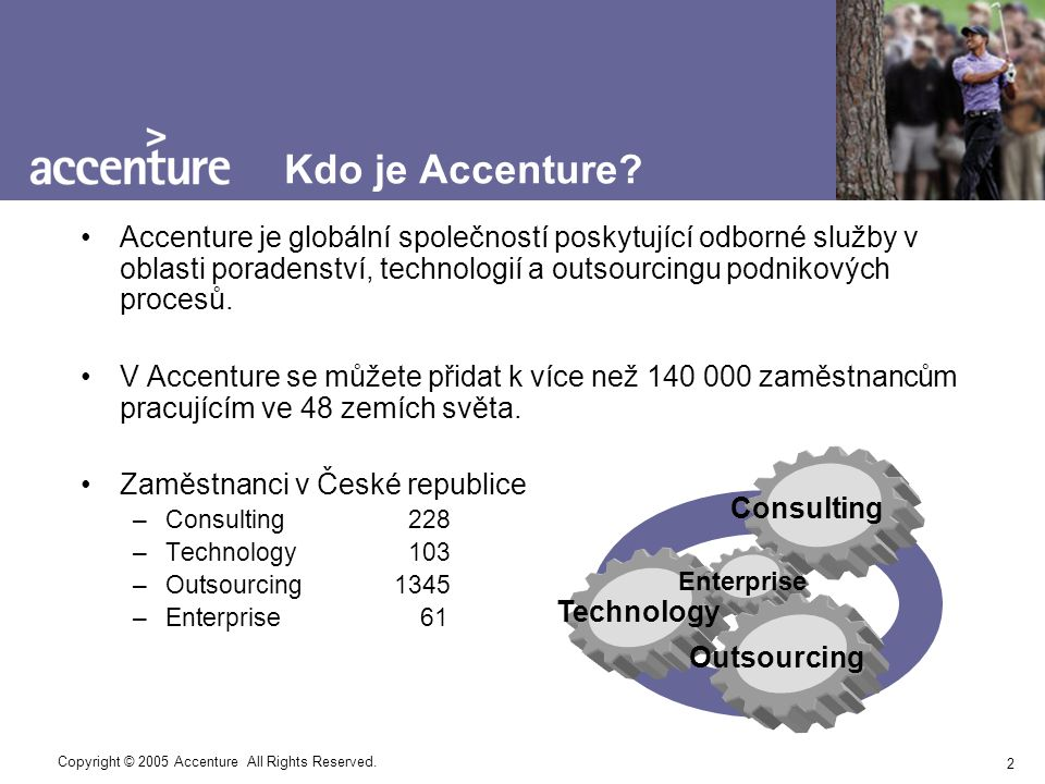 3 Copyright © 2005 Accenture All Rights Reserved.