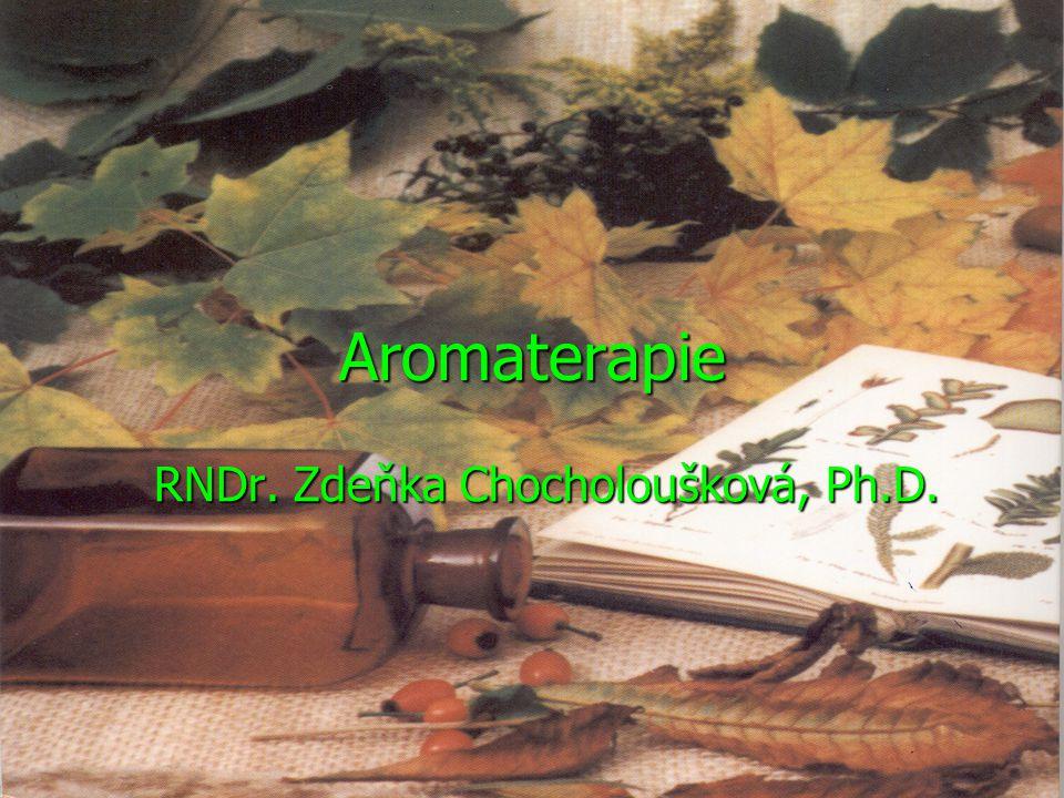 Aromaterapie RNDr. Zdeňka Chocholoušková, Ph.D.