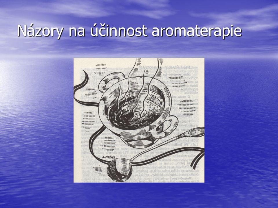 Názory na účinnost aromaterapie