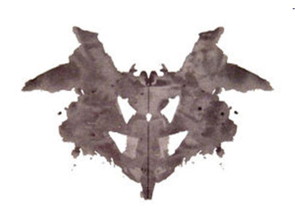 """Limity Aby nebyla široká veřejnost ovlivněna návody, jak správně Rorschachův test použít, a tudíž se pacienti nesnažili test """"obelhat , originální karty i s popisky jsou oficiálně prodávány jen licencovaným psychologům."""