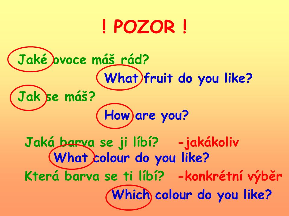 ! POZOR ! Čí kniha je to? Whose book is it? Kdo je ten chlapec? Who´s the boy? hu:z