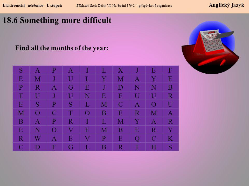 18.6 Something more difficult Elektronická učebnice - I.