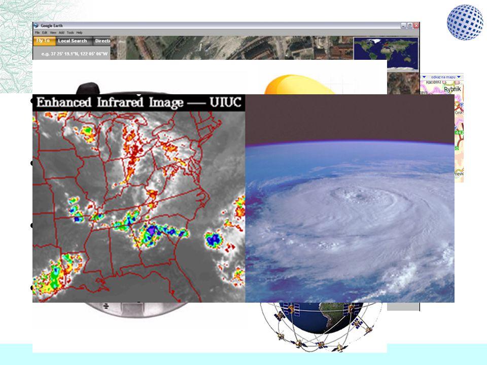 Znáte ? supermapy.cz Google Earth technologie GPS předpověď počasí