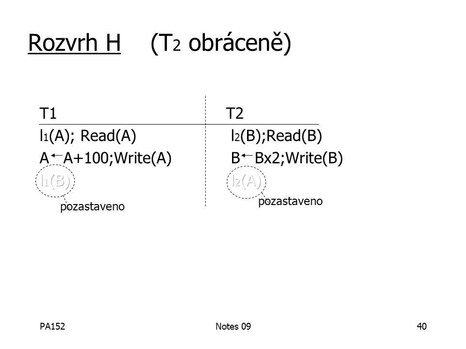 PA152Notes 0940 Rozvrh H (T 2 obráceně) pozastaveno