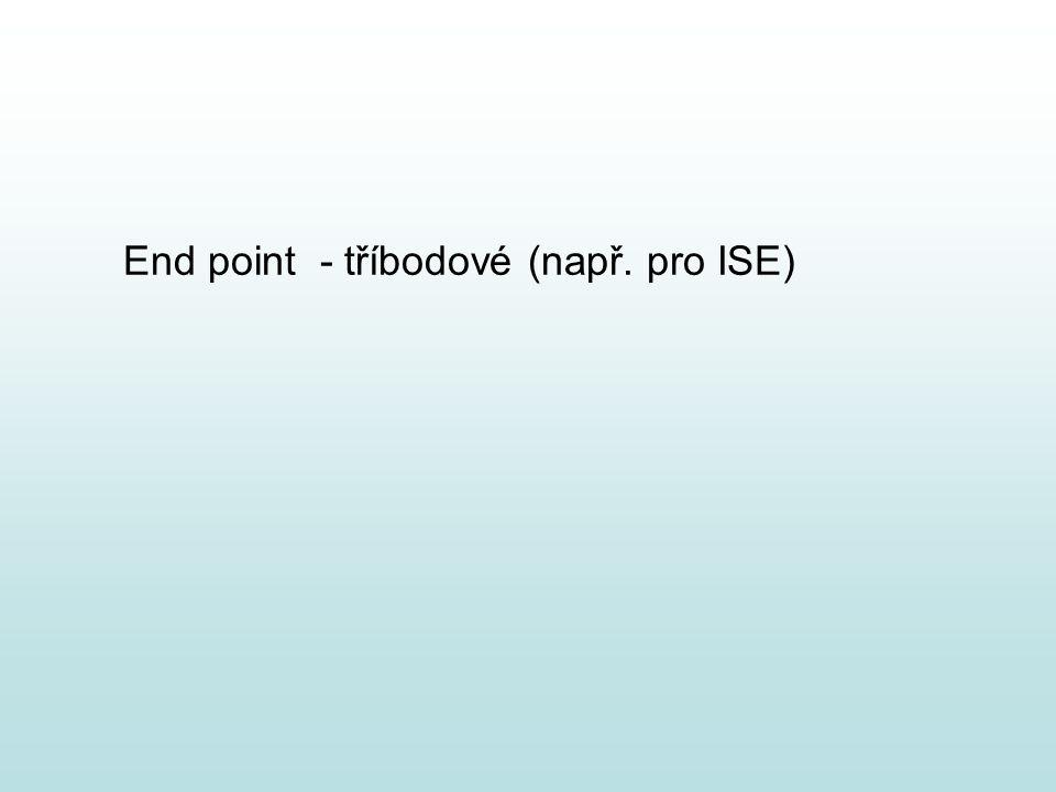 End point - tříbodové (např. pro ISE)