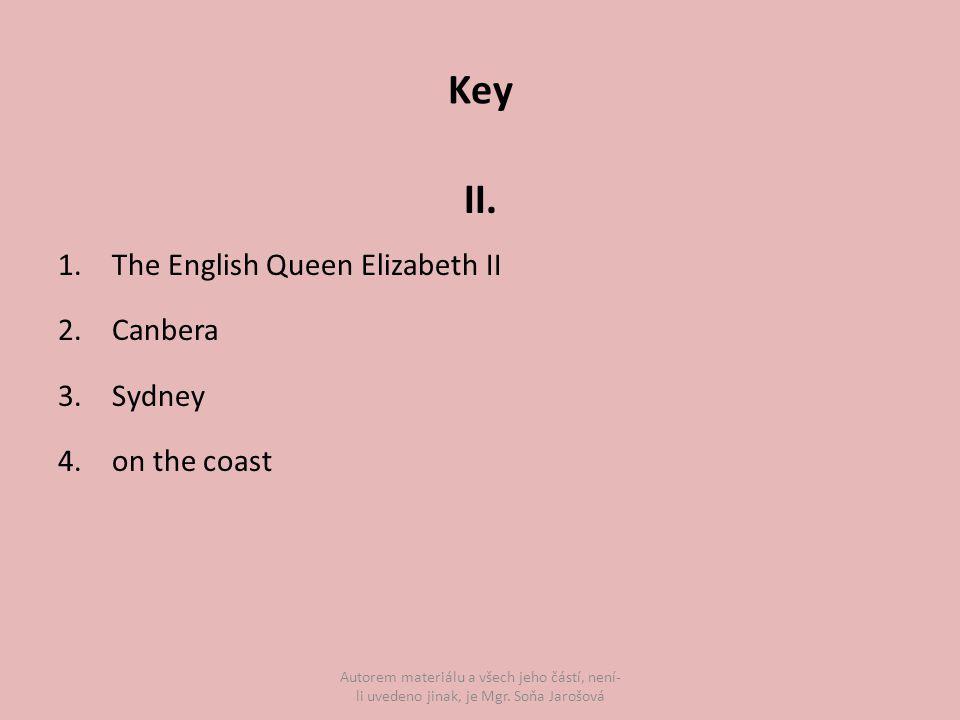 Key II.