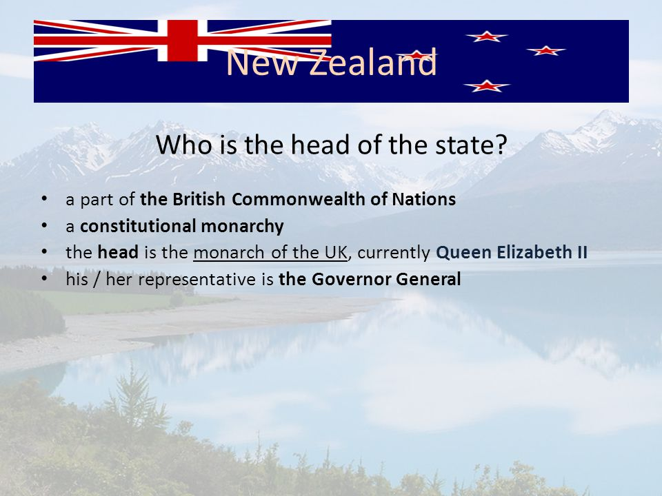 Who is the head of the state.