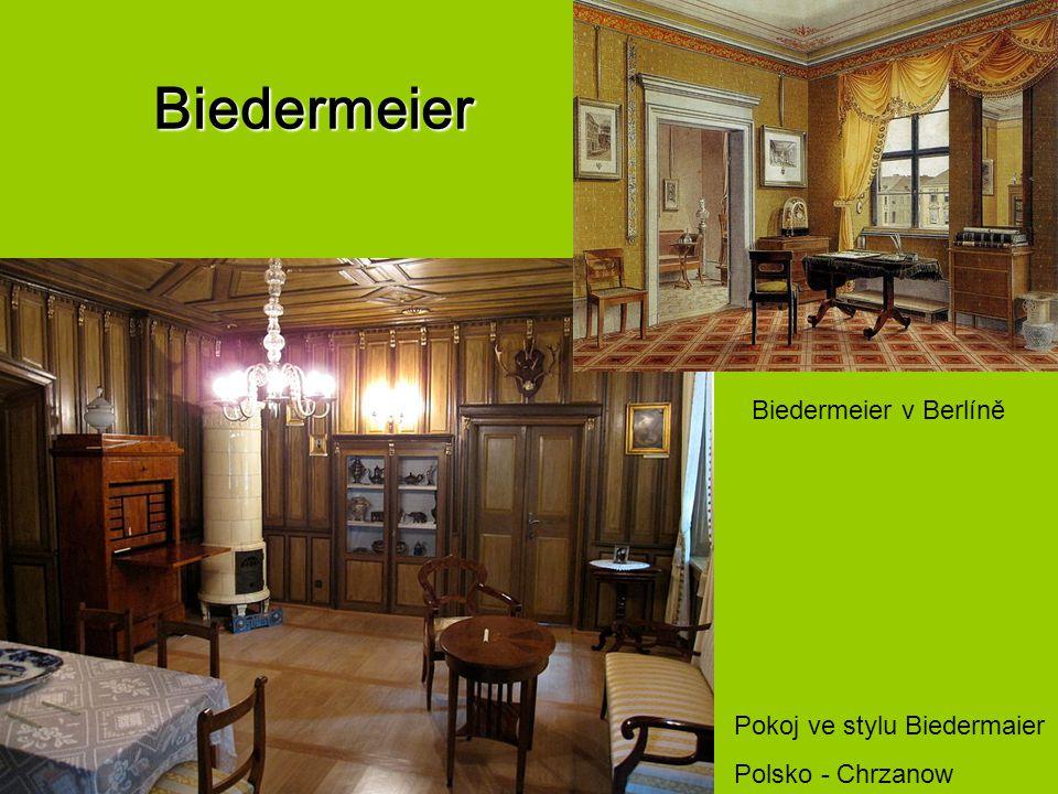 Biedermeier Pokoj ve stylu Biedermaier Polsko - Chrzanow Biedermeier v Berlíně