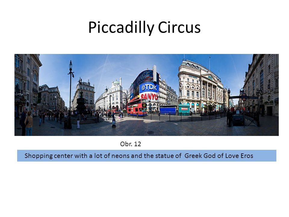 Piccadilly Circus Obr.