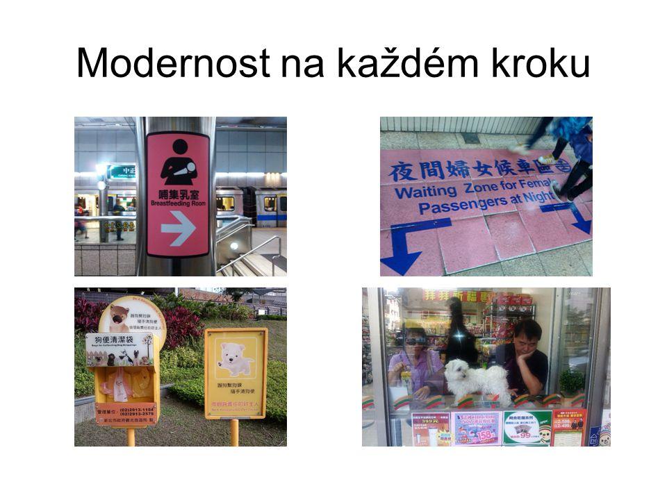 Modernost na každém kroku