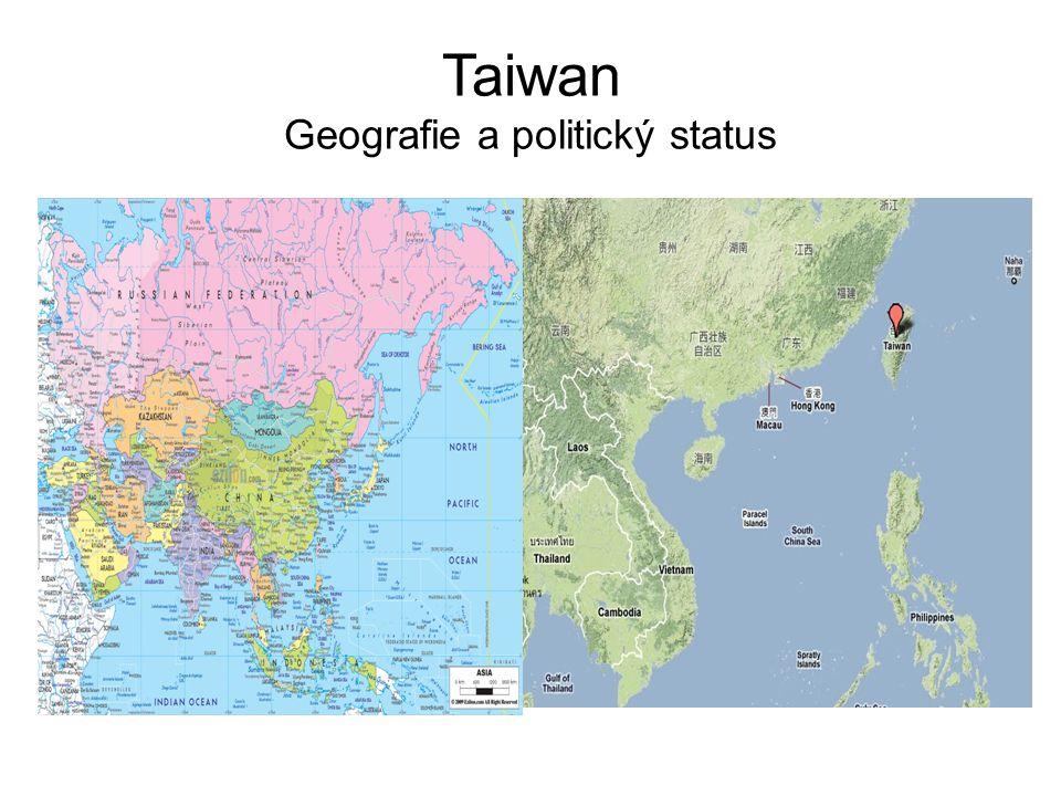Taiwan Geografie a politický status