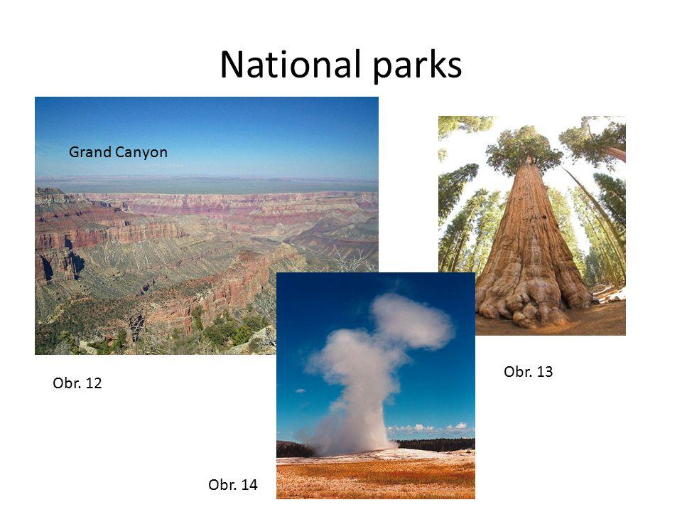 National parks Grand Canyon Obr. 12 Obr. 14 Obr. 13
