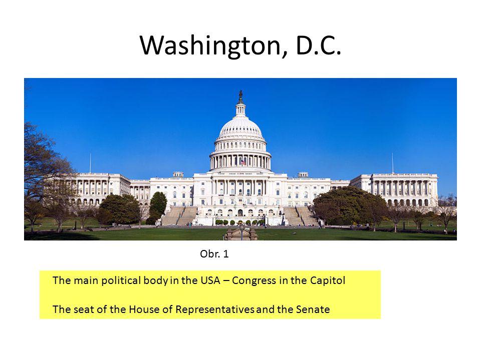 Washington, D.C. Obr.