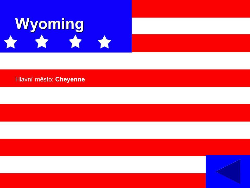 Wyoming Hlavní město: Cheyenne