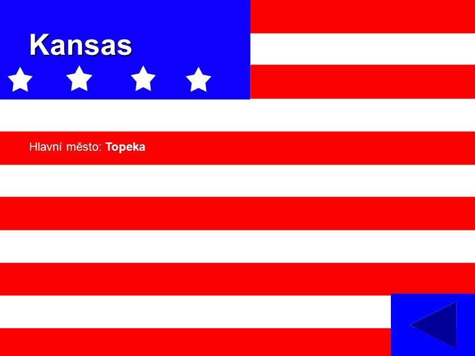 Kansas Hlavní město: Topeka