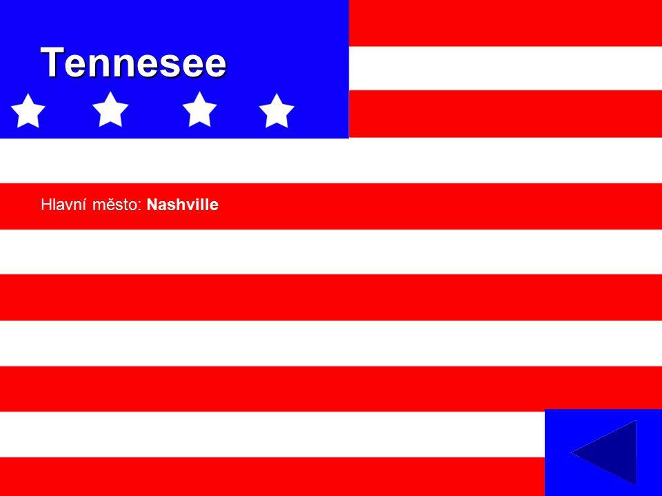 Tennesee Hlavní město: Nashville