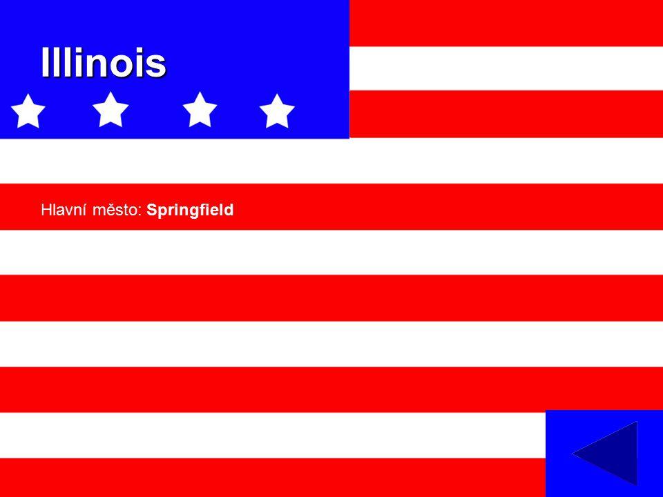 Illinois Hlavní město: Springfield