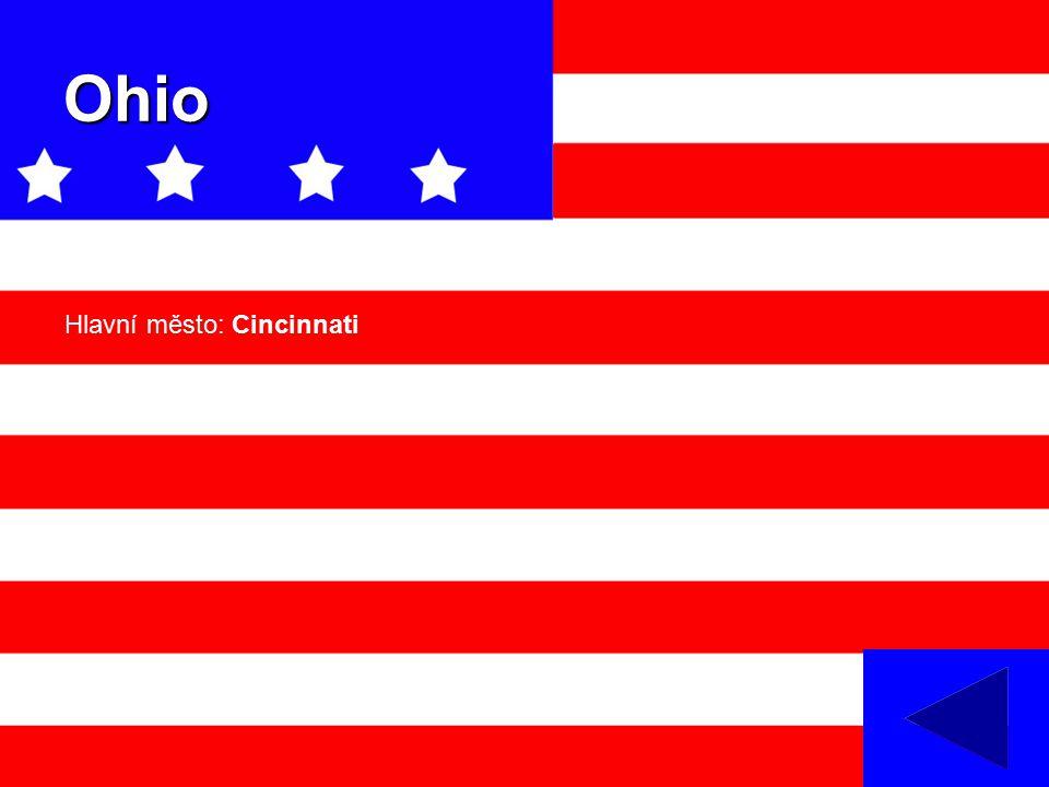 Ohio Hlavní město: Cincinnati