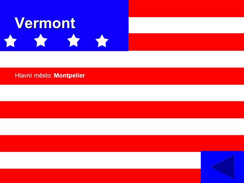 Vermont Hlavní město: Montpelier