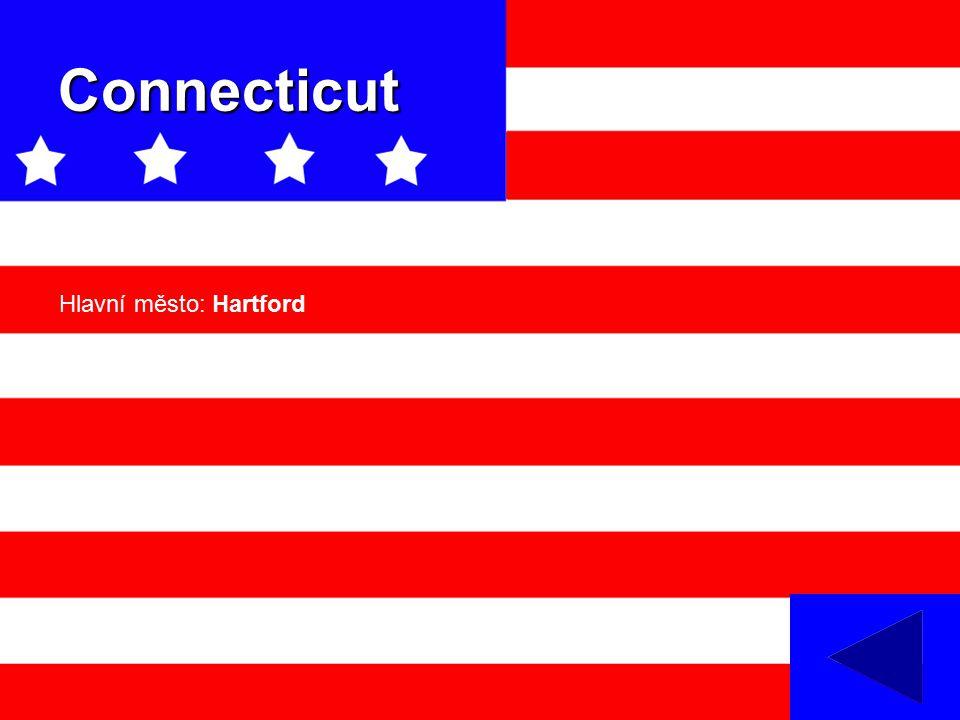 Connecticut Hlavní město: Hartford