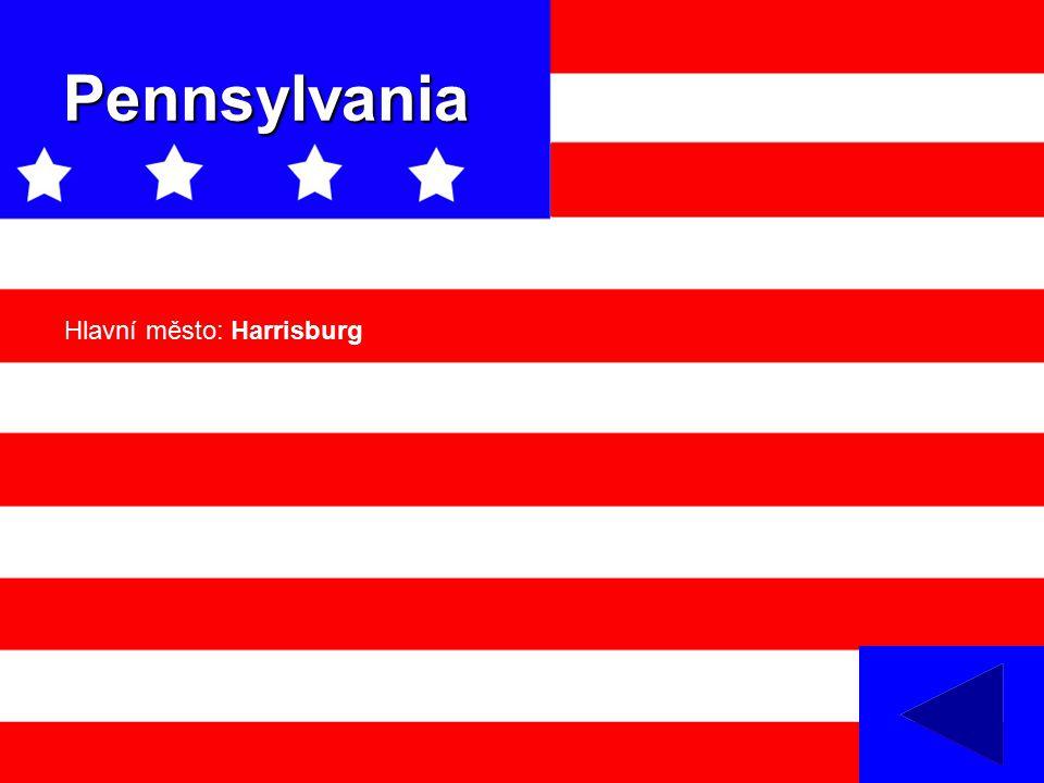 Pennsylvania Hlavní město: Harrisburg
