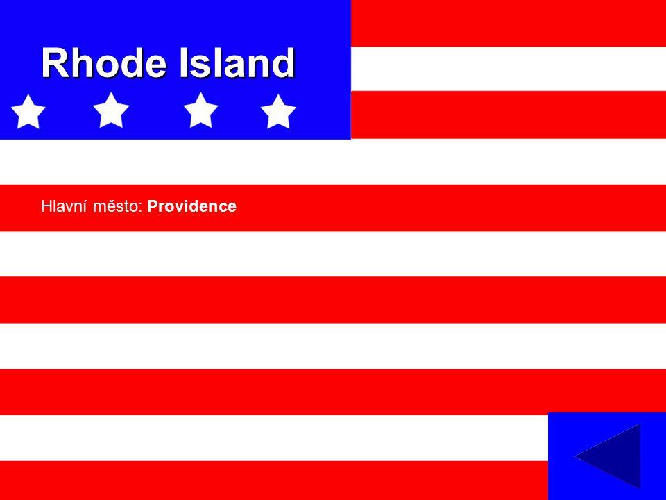 Rhode Island Hlavní město: Providence