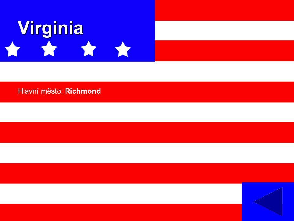 Virginia Hlavní město: Richmond