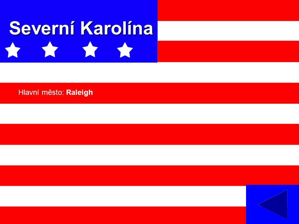 Severní Karolína Hlavní město: Raleigh