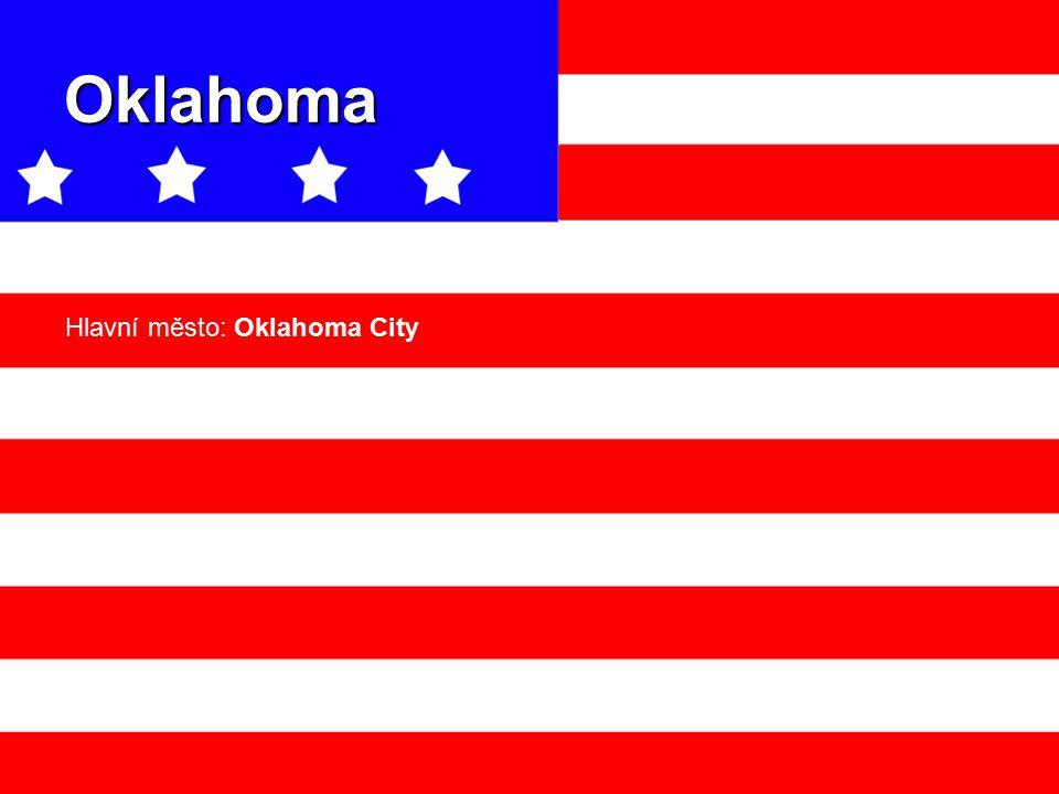 Oklahoma Hlavní město: Oklahoma City