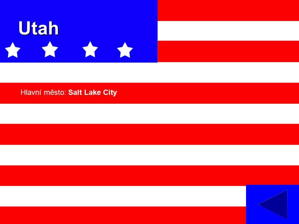 Utah Hlavní město: Salt Lake City
