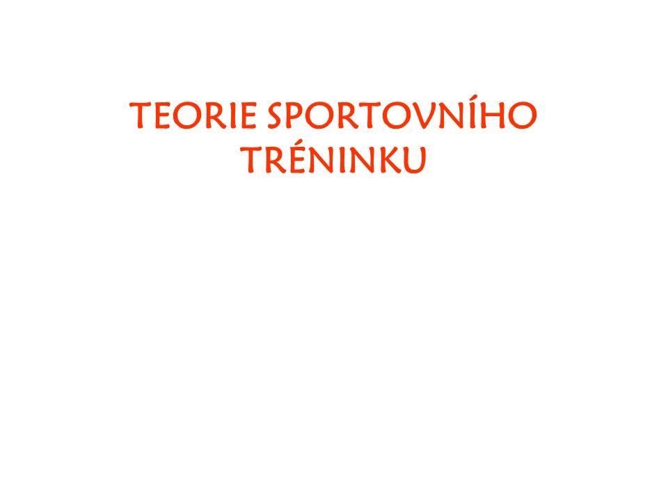 Předmět teorie ST Historie teorie ST Dvě úrovně teorie ST - obecná - speciální Co je to sportovní trénink.