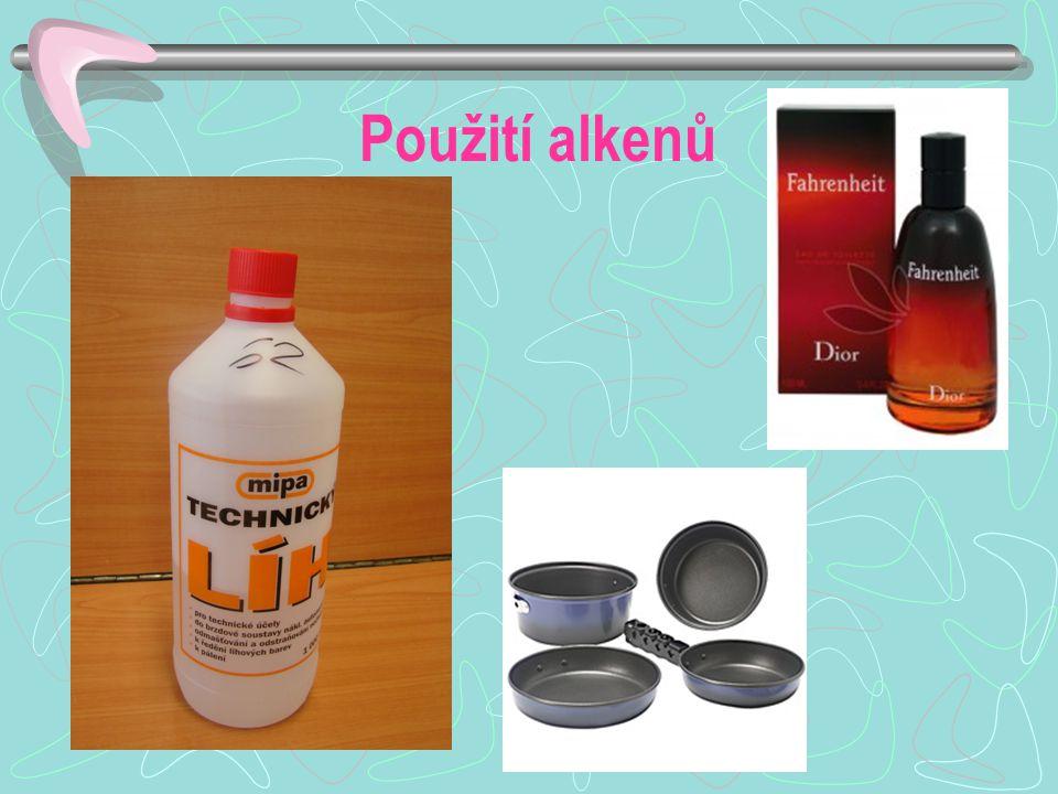Použití alkenů