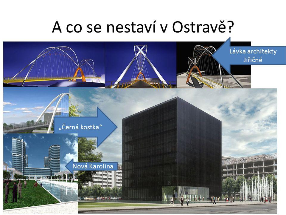 """A co se nestaví v Ostravě Lávka architekty Jiřičné """"Černá kostka Nová Karolina"""