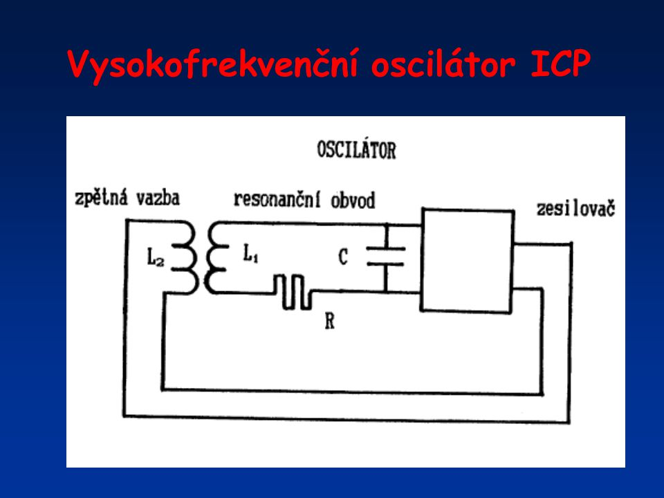 Vysokofrekvenční oscilátor ICP